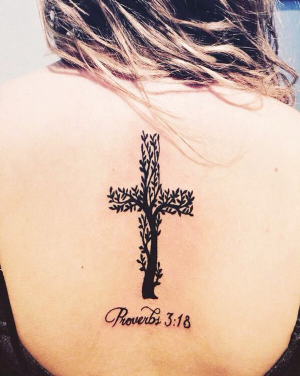 Unique Cross Tattoos For Women That Are Just Beautiful