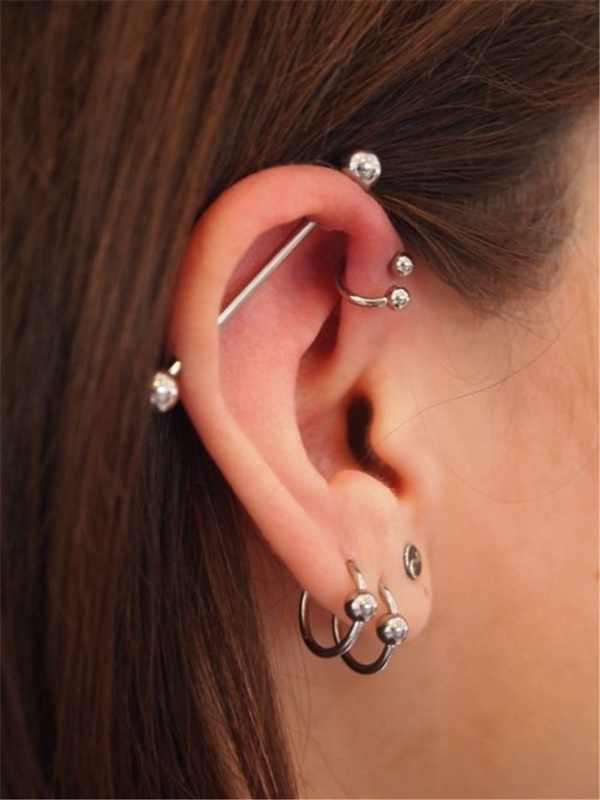 Hot And Stylish Ashley Piercing Ideas For Her