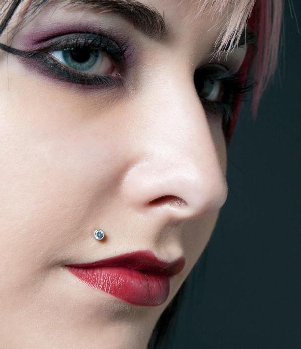 Stylish Monroe Piercing Ideas With Jewellery