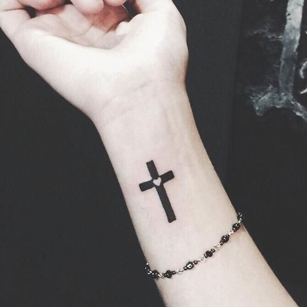 75 Unique Ideas Of Cross Tattoo Designs For Women With Meaning