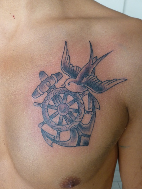 Cute Sparrow Tattoo Designs & Ideas For Men With Meaning