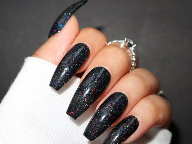 39 Gorgeous Short Coffin Nail Designs Buzz Hippy I love these nails so much there so cute i got my address wrong the first time and she was so understanding and sent me a brand new pair. 39 gorgeous short coffin nail designs