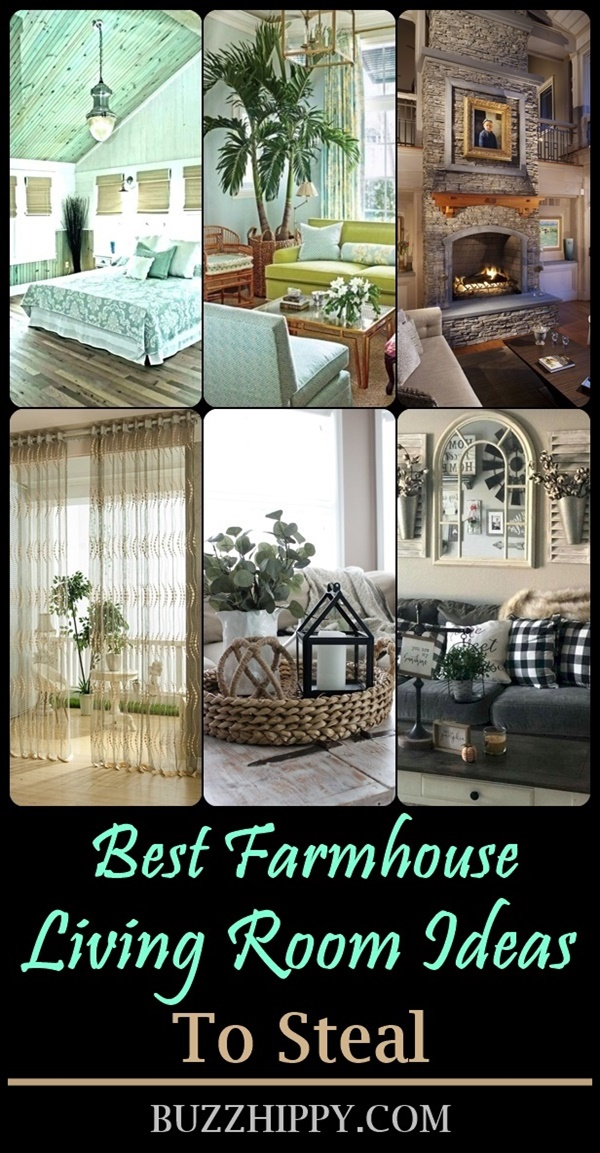 Best Farmhouse Living Room Ideas To Steal