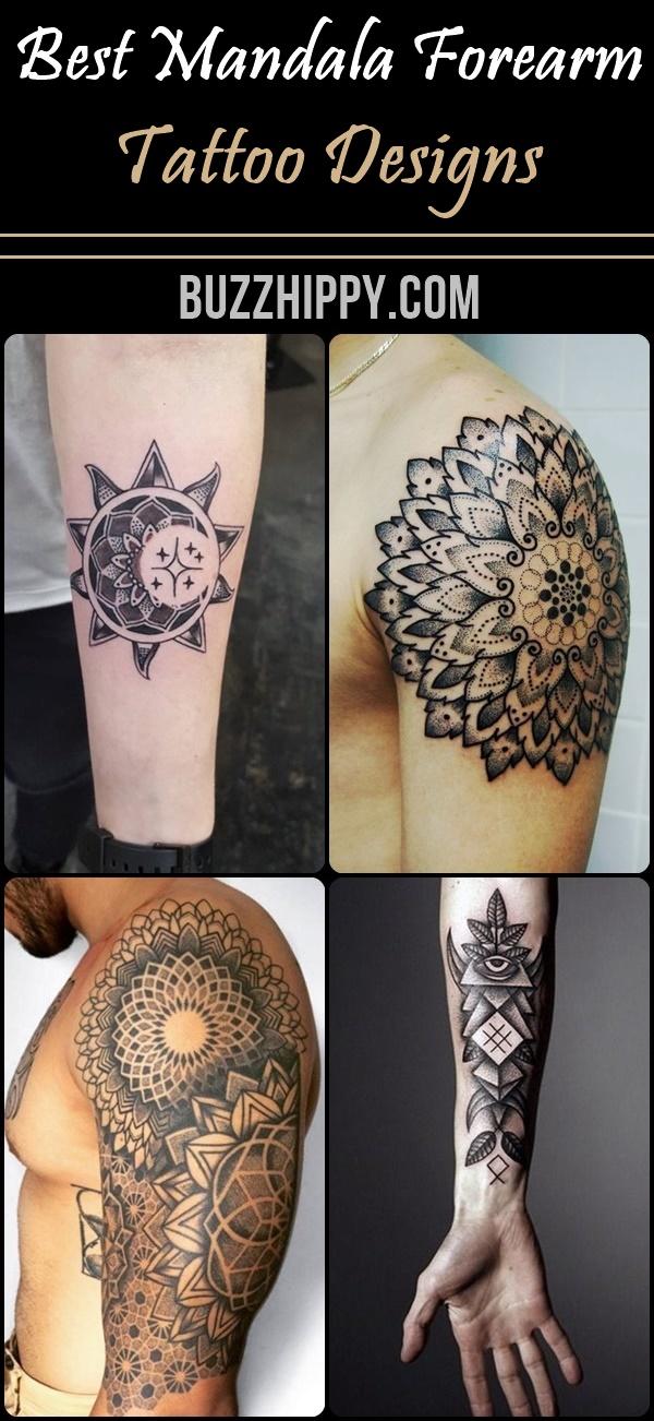Best Mandala Forearm Tattoo Designs