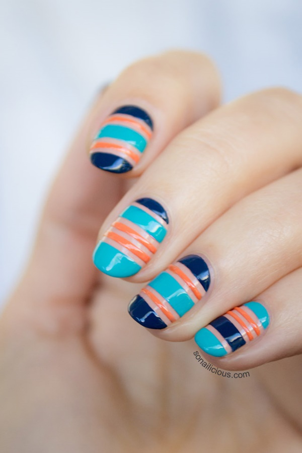 Negative Space Nail Art Designs And Ideas