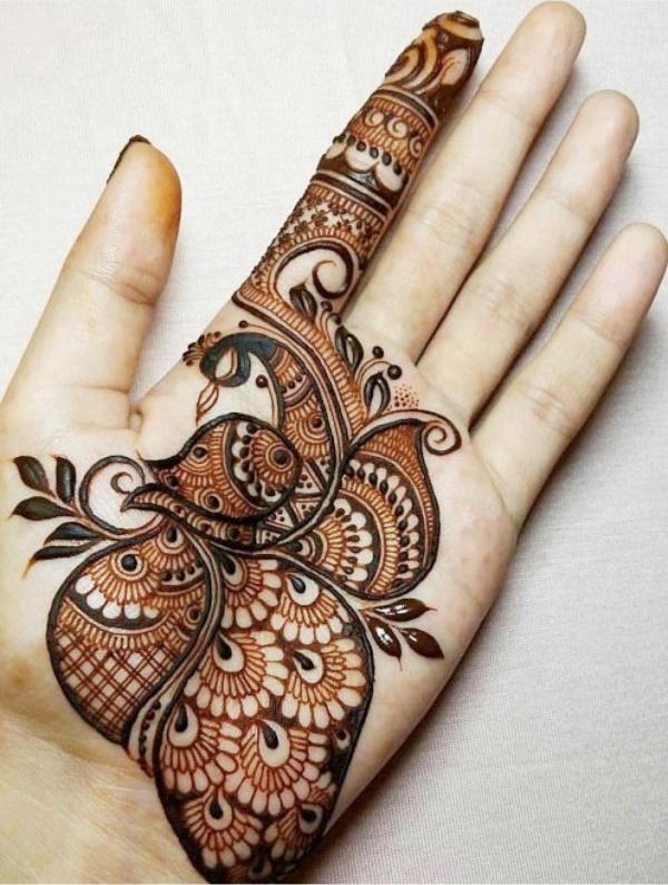 easy simple arabic mehndi designs for hands