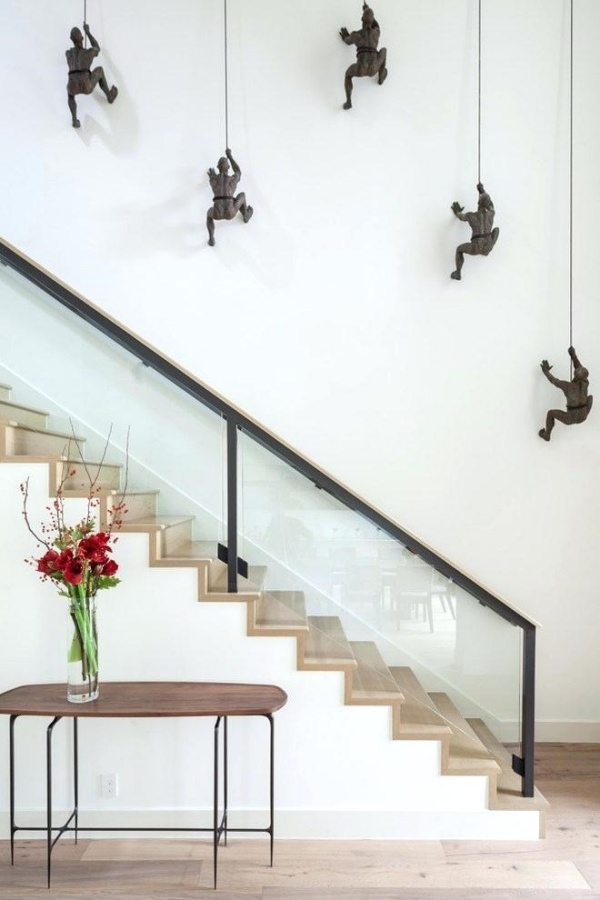 Staircase Wall Decor Paulbabbitt Com