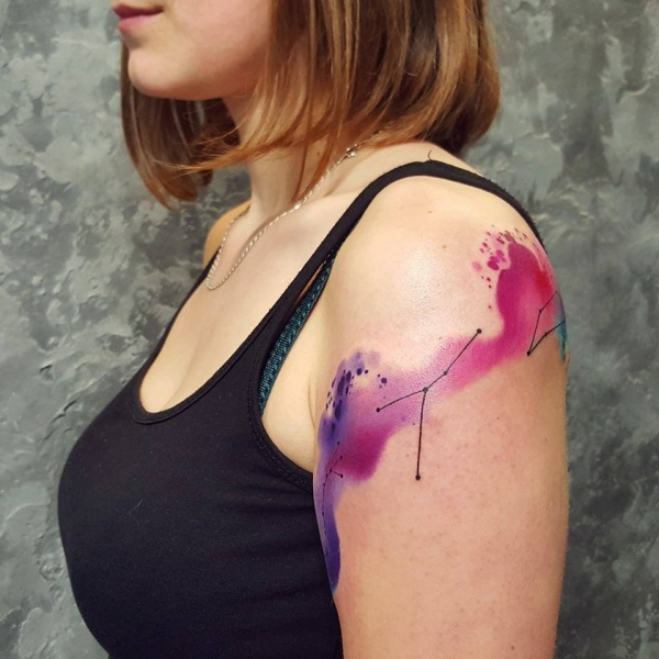Taurus Constellation Tattoo Designs With Meaning