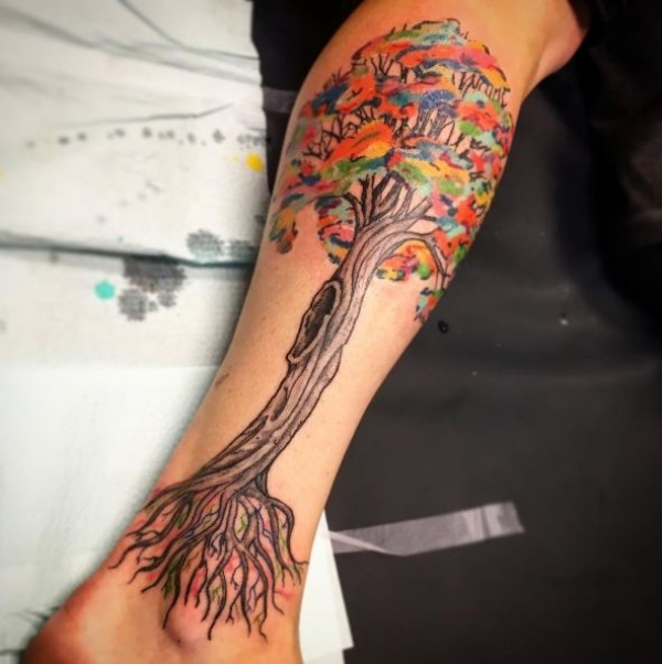 Beautiful Bodhi Tree Tattoo Designs And Ideas
