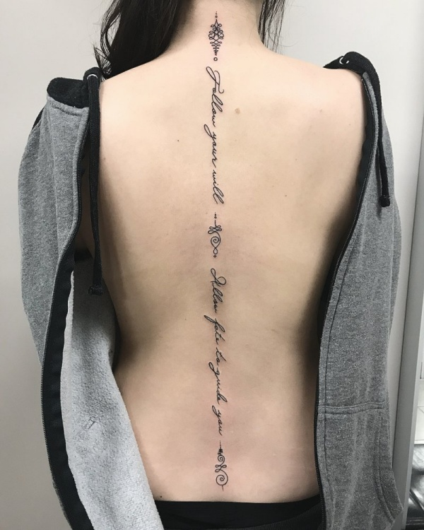 Unique Unalome Tattoo Designs With Meaning