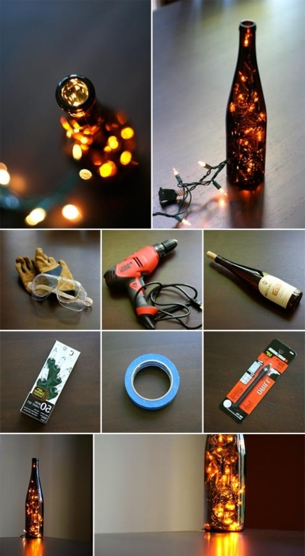 Amazing DIY Wine Bottle Craft Ideas