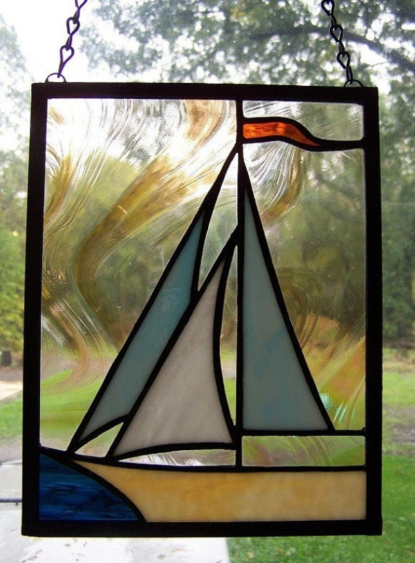 Amazing Glass Painting Designs For Wall Hanging