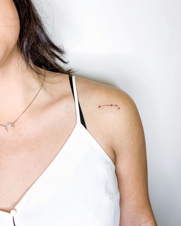 Best Aries Constellation Tattoo To Get Inked