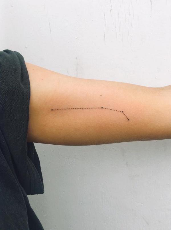 Best Aries Constellation Tattoo To Get Inked