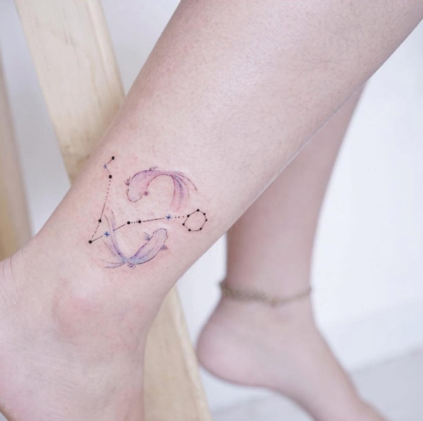 Best Pisces Constellation Tattoo To Get Inked