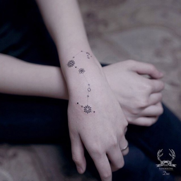 Best Sagittarius Constellation Tattoo To Get Inked