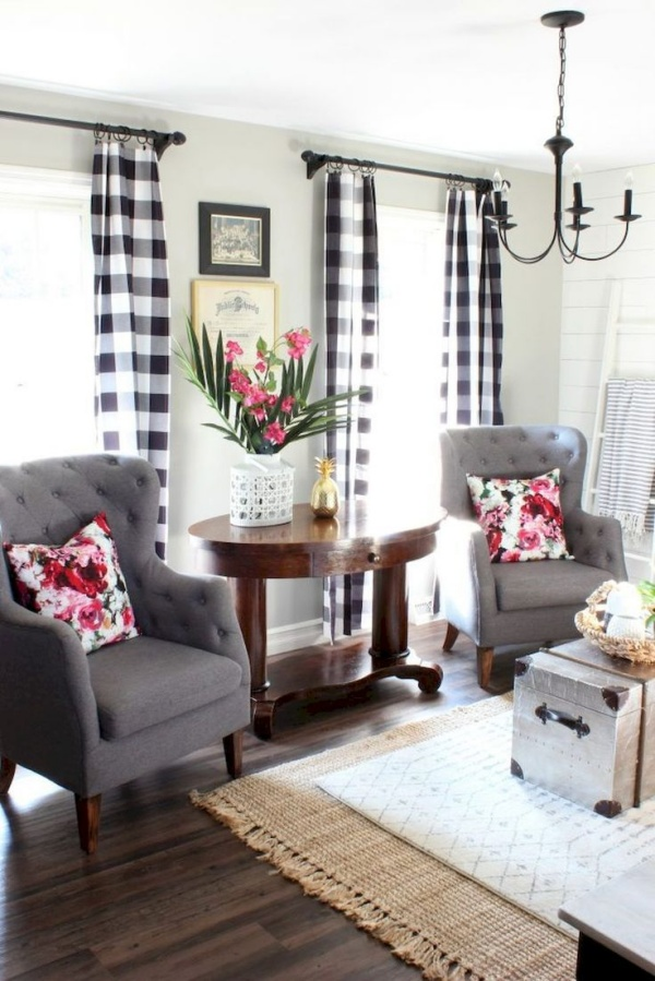 Cozy Farmhouse Living Room Decor Ideas