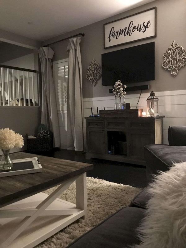 Cozy Farmhouse Living Room Decor Ideas