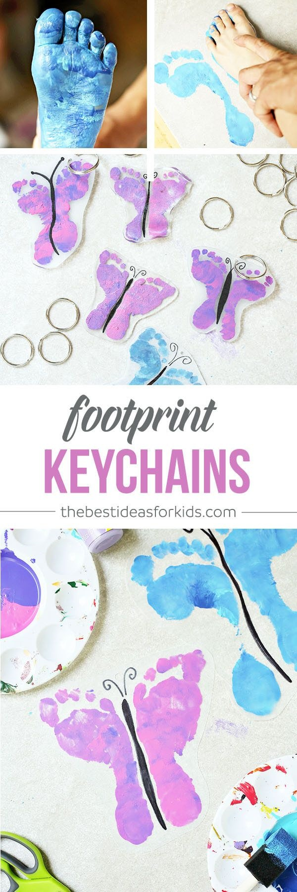 DIY Keychain Ideas To Make Your Friends