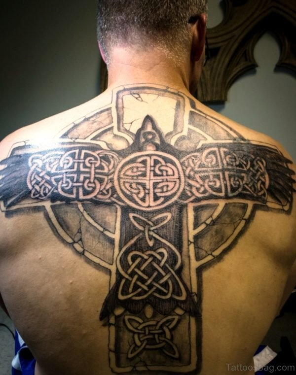 Simple Celtic Cross Tattoo Designs And Ideas With Meaning